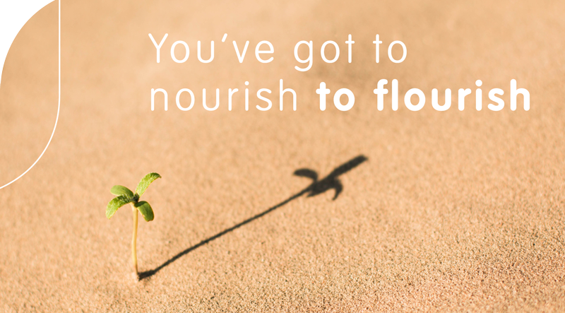 Hamewith - Quote You've got to nourish to flourish